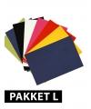Voordeelpakket A4 karton basis kleur 36x