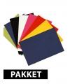 Voordeelpakket A4 karton basis kleur 8x