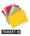 Voordeelpakket A4 hobby karton 36x